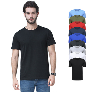 100 Cotton 170g Plain Wholesale Men Short T Shirt High Quality