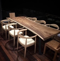 Factory directly sell suar slab suar wood table
