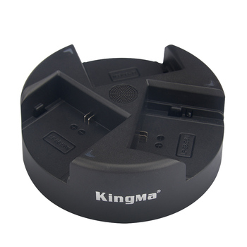 KingMa Triple Charger Compact and Portable charger for Sony NP-FW50 Battery