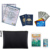 Custom Waterproof and Fireproof Money Bag Fireproof Safe Storage Pouch with Zipper