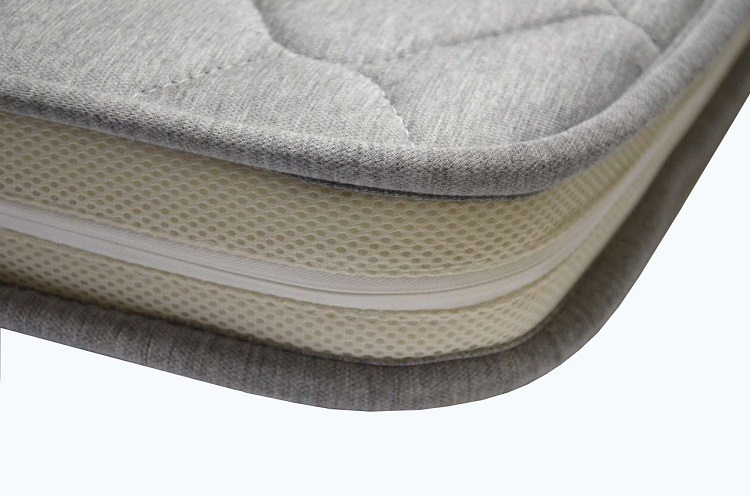 Hot Sale High Quality Knitted Bamboo Fabric Baby Cot Mattress