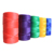 1 mm 2mm 8 strands Braided 3 strands twisted red Nylon Poly Twine Bobbin bricklayer twine Building Twine