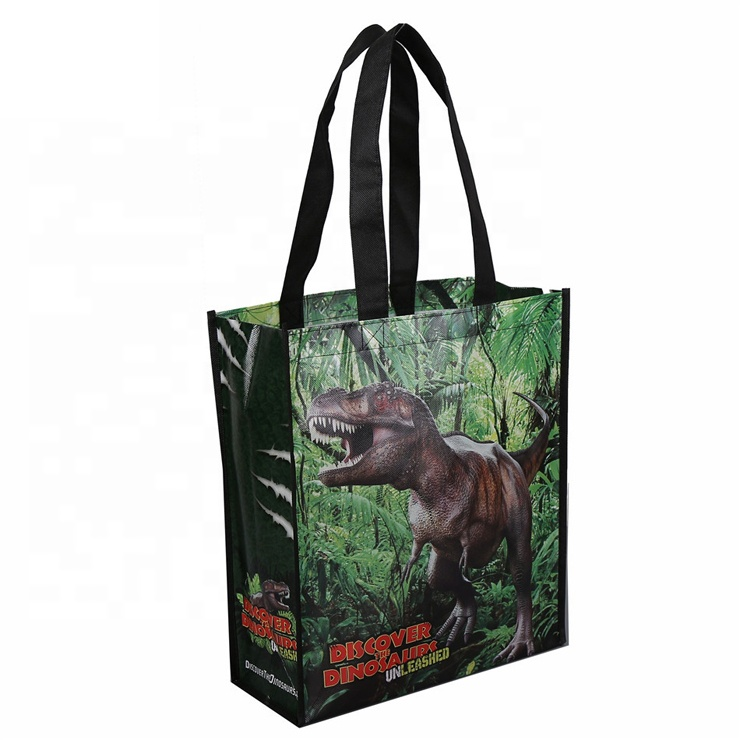 Custom Waterproof Laminated Non-Woven Bags Shopping Tote