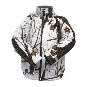 Winter Hunting White Camo Jacket Mens For Sale