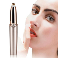 2019 New High Quality Women's Painless Facial Hair/Eyebrows Remover Electric Trimmer Manufacturer of Shenzhen