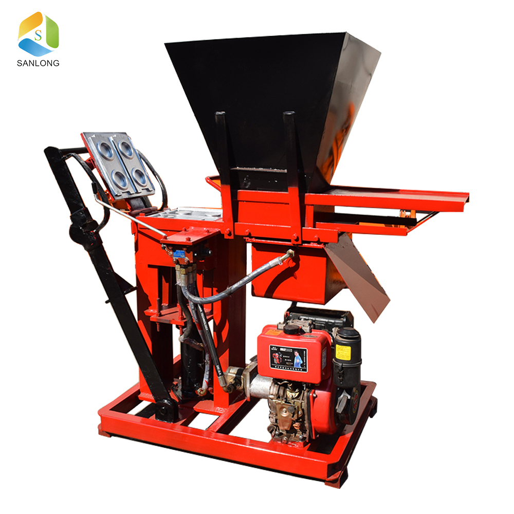 Hot selling SL2-15 hand press lego brick making machine
