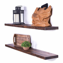 Large Rustic Floating <strong>wall</strong> Shelf 24 inch For Living Room Bedrooms Kitchen <strong>Bathroom</strong>