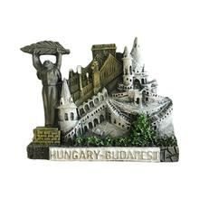 Budapest Hungary 3D <strong>Fridge</strong> magnet Tourist Souvenir Travel Home Decor Collection