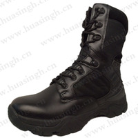 LTT, super hot selling good quality military boots for army police commando tactical combat boots HSM133