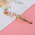 Customized happy color diamond letter hairpin suitable for girls