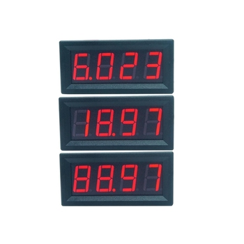 Smart Electronics -- Digital LED display - 4-digit voltmeter - Current panel meter