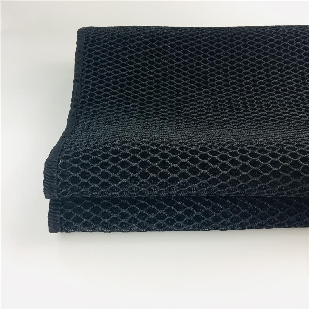 OEM black washable cooling 5-20mm thickness net fabric bed 3d air mesh mattress topper - Jozy Mattress | Jozy.net