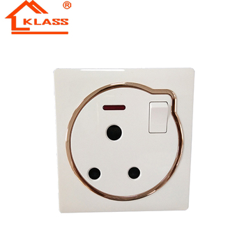 china manufacturer 15 amp switched socket