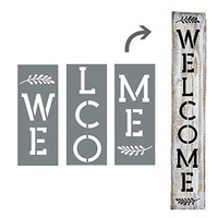 Personalized Individual Stencils Or Whole Welcome Home Silk Screen Printing Logo Custom Wood Signs