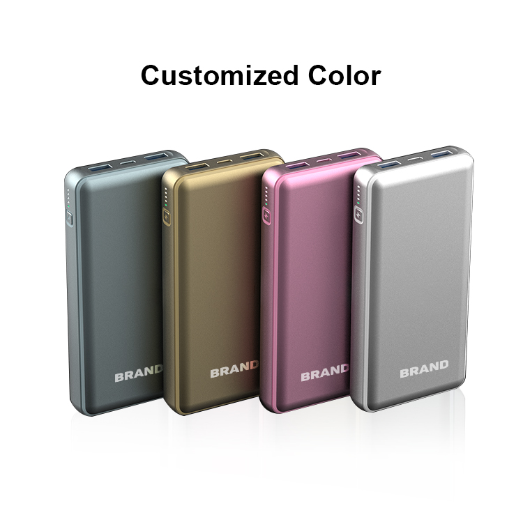 Wholesale Portable USB C Powerbank 18W PD Power Bank 20000mAh