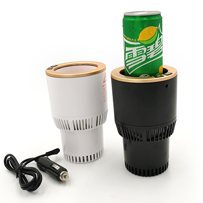 Cool Gifts Electric Bottle Warmer Holder 12v Car Mini Cooler and Warmer <strong>Auto</strong>