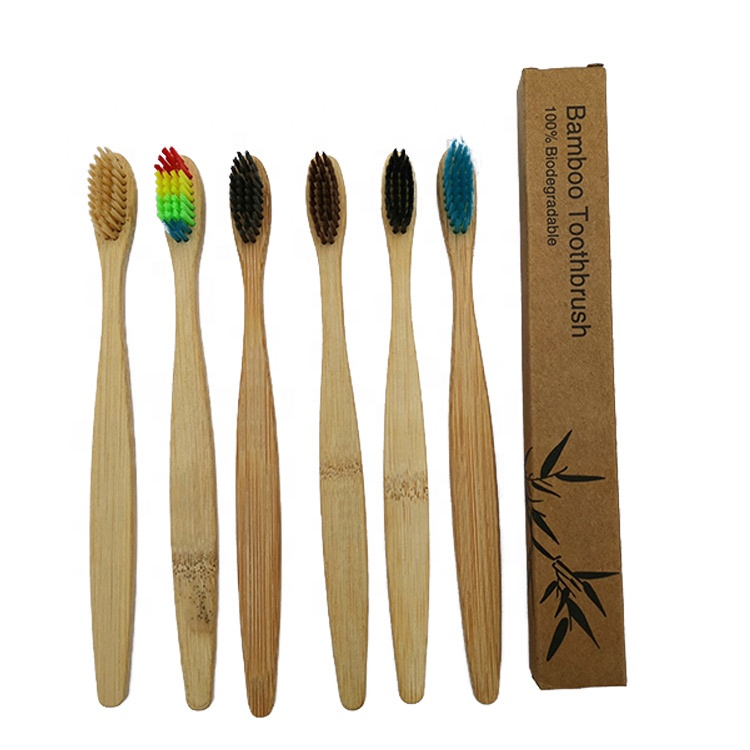 China Manufacturer 100% Organic Private Label Charcoal <strong>Bamboo</strong> Toothbrush