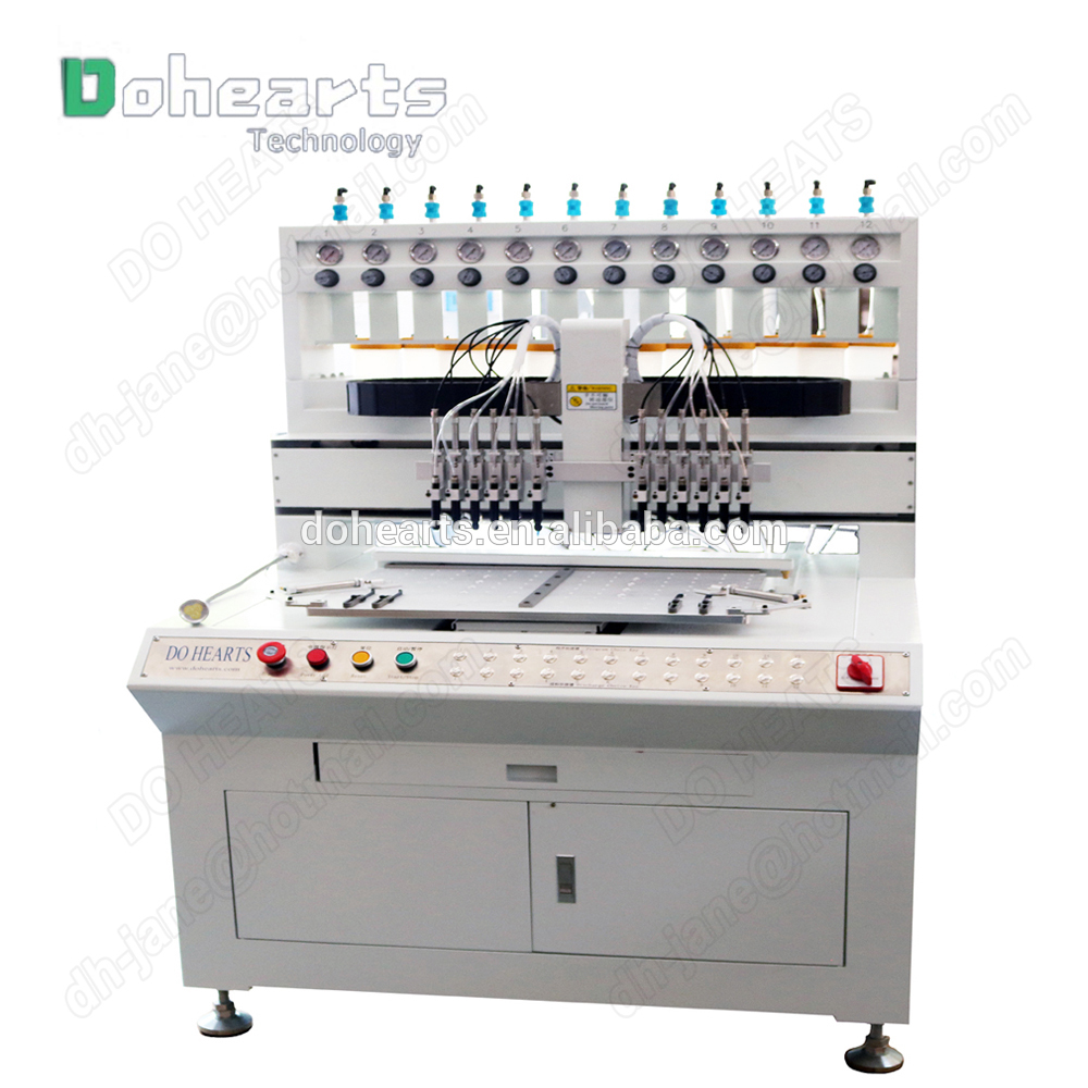 Manufacture of <strong>mobile</strong> phone shell independent design micro silicone injection dispenser machine