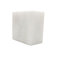 Professional Supplier Natural pure white cut-to-size Cube Marble Stone