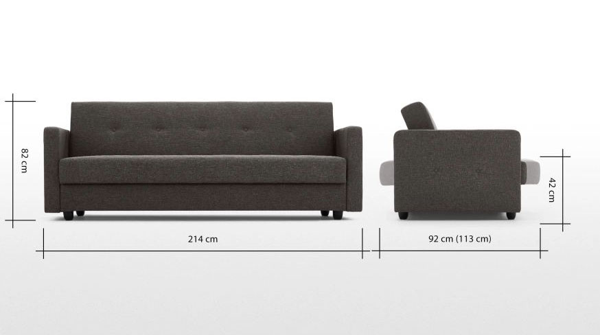 Foshan Furniture Lounage Sofa Bed Living Room Sofa cum Bed Folding