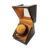 Cherry Color High Gloss Paint Single Auto Watch Winder Box For Watch