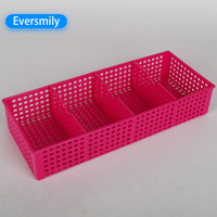 Hot selling plastic basket desk storage household sundries with good price