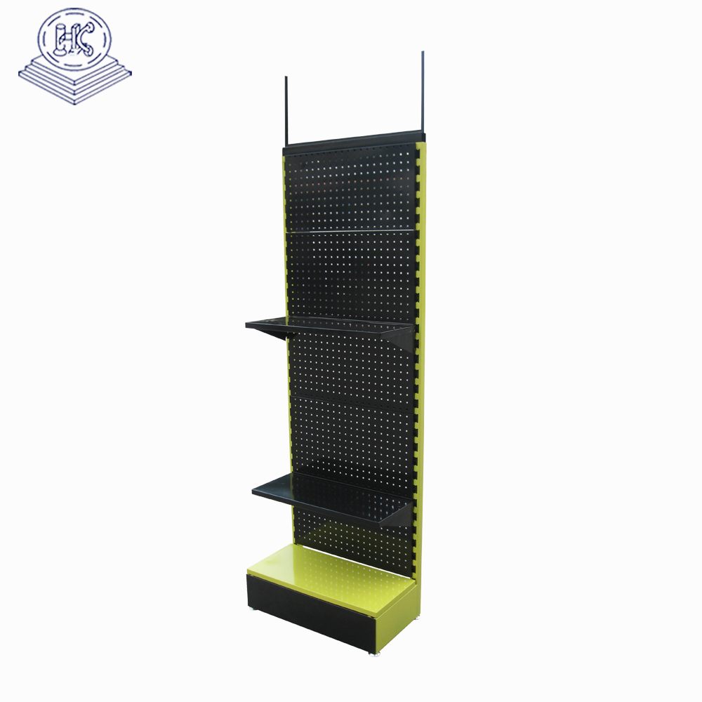 durable free stand pegboard display racks