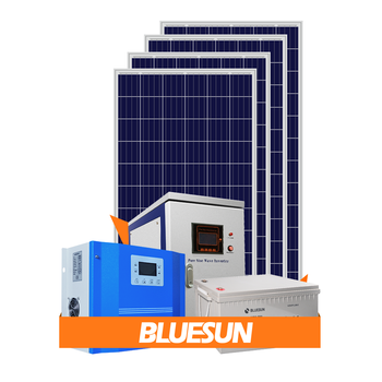 Bluesun 10kva solar system off grid solar energy products 10kw 20kw 30kw pv solar systems 600w for home use