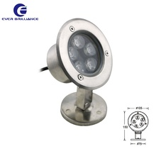 Popular swimming pool lights Ip68 water floating light 5W pond lighting