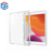 For iPad 10.2 Full Clear Soft TPU Back Cover Case with Pen Slot