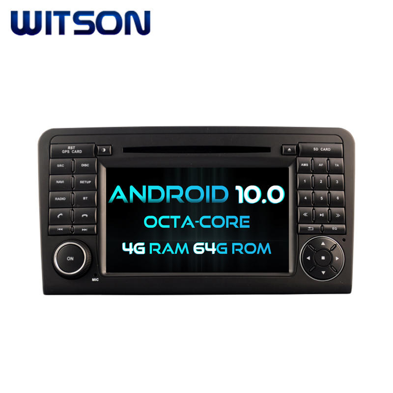 WITSON <strong>ANDROID</strong> 10.0 CAR DVD GPS NAVIGATION FOR MERCEDES-BENZ ML320 ML350 <strong>W164</strong> GL X164 GL320