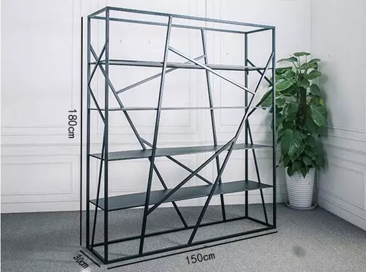 wine display cabinet etagere metal shelf book industrial bookcases