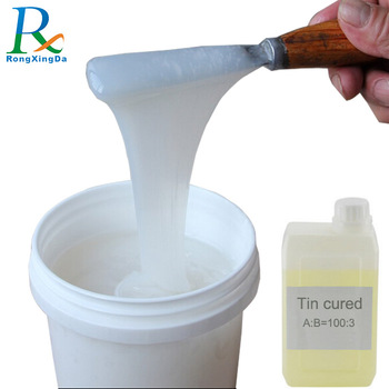 tin cured liquid rtv silicone for mold making