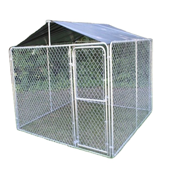 Chain Link Kennel, 5' L X 5' W X 4' <strong>H</strong>