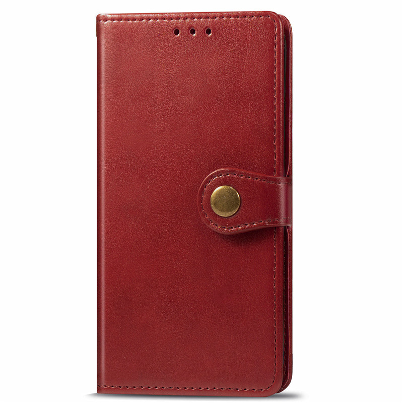 2020 Hot Sale For LG <strong>W10</strong> W30 Pure Color PU Wallet Leather Cover TPU <strong>Phone</strong> Case With Button Card Holder For W30
