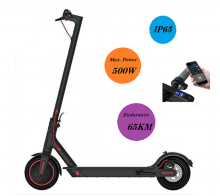 IP65 500W 13.5AH 65KM High Speed Long Range M365 Pro Smart 2 Wheel Foldable Adult Folding Electric Scooter