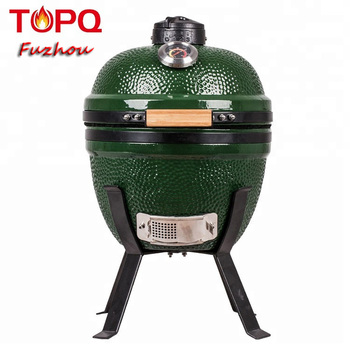 TOPQ Portable Charcoal Japanese Grill Ceramic Bbq asador smoke mini kamado