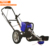 CG500E Electric Li-ion Battery Hand Push Brush Cutter Grass String Trimmer Wheeled Cutting Machine For Garden With Double Wheels