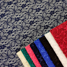 Tulle embroidery spandex lace fabric for clothing