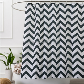 96 inch standard size moldproof shower curtain