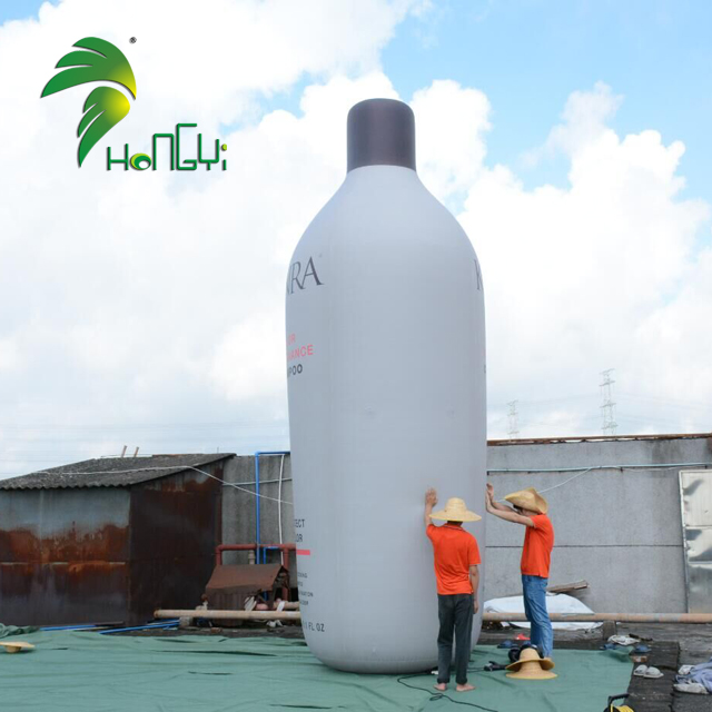 Hongyi Custom Inflatable Bottle Advertising Inflatable Bottle Modeling For Promotion