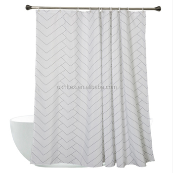 china made home goods extra long shower curtain