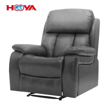 Modern Luxury One Seat Pu Leather Living Room  Bedroom Manual Recliner Massage Sofa