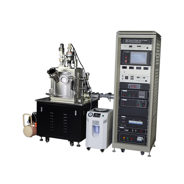 PVD vacuum coating machine electron beam evaporation coater for evaporation of refractory metals