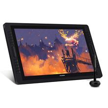 Stock available HUION KAMVAS PRO22(2019) touch screen drawing tablet <strong>monitor</strong> for e learning