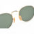 2019 hot sale lightweight brand design classic metal frame green lenses sun glasses round polarized sunglasses for men women