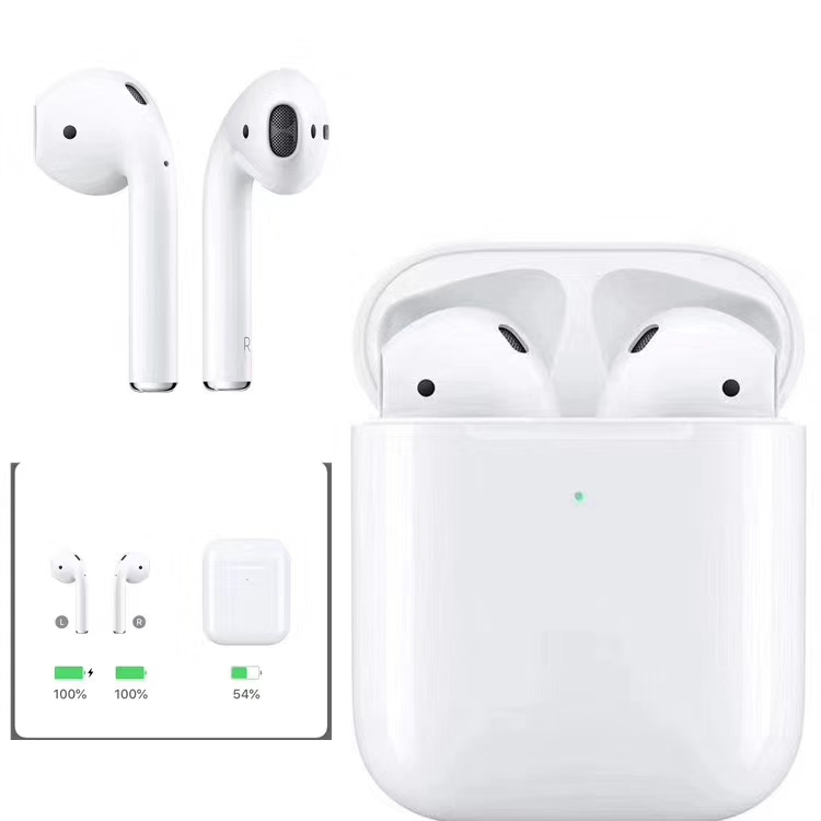 2020 manufacturer Top quality 1:1 rename gen 2 <strong>Air</strong> 2 pods i500 i200 wireless tws earbuds headphones earphone for Apple iphone