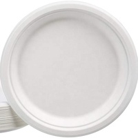 ecological disposable bagasse paper plates
