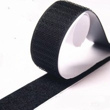20mm*25m China Manufacturer Hot Sell Widely Used Self Adhesive Printed Fastener Sticky Back Glue PVC <strong>Hook</strong> and Loop Tape
