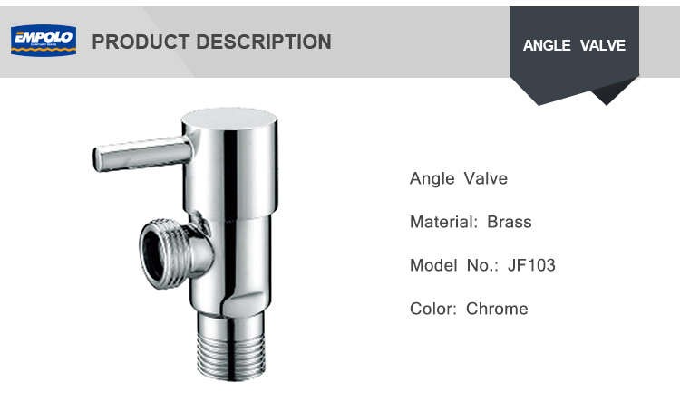 Wholesale price sanitary fitting traditional design kitchen stainless steel angle valve